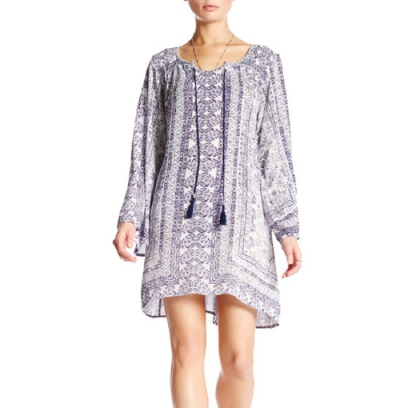 Angie Dresses & Skirts - ANGIE - Boho Bell Sleeve Tunic / Dress