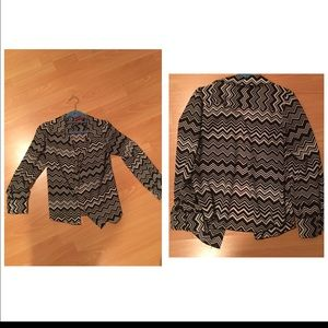 Missoni Tops - Missoni black and white button down shirt