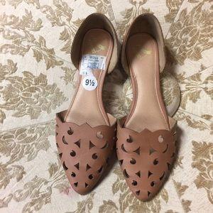 Report Shoes - Report Cutout Flats