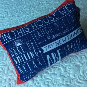 Other - Happy House Pillow