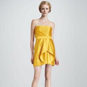 Shoshanna Dresses & Skirts - Stunning Shoshanna Yellow Topaz Orly Dress