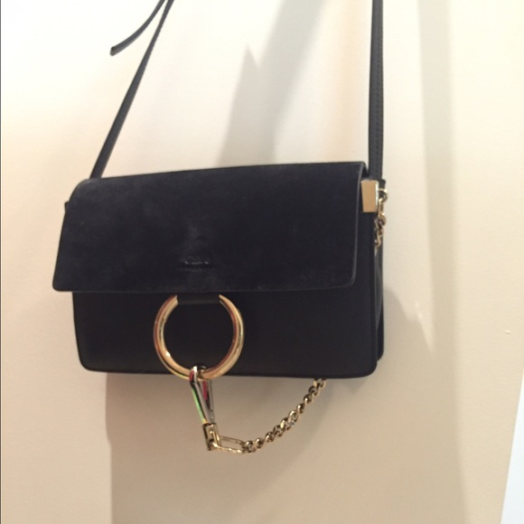 💔SOLD💔Chloe Faye bag black small b8fa6d3e9ccf9
