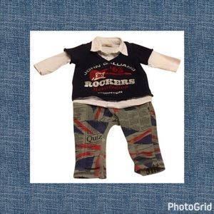 John Galliano Other - Authentic John Galliano designer baby boy outfit 3