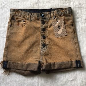 NWT One Teaspoon Lovers Shorts size 25