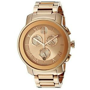 Movado  Accessories - NWT Movado Rose-Gold Ion-Plated Chronograph watch