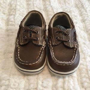 Other - Genuine Kids by Oshkosh Herringbone Boat Shoes