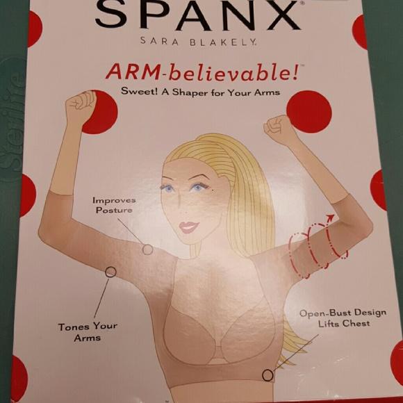 b4b3336c72e4a Spanx arm believable toning arm size large. M 5806433f522b45664f006899