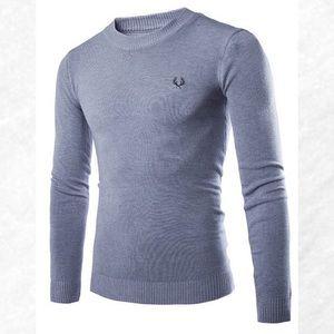 Other - Men's Light Gray Long Sleeve Sweater