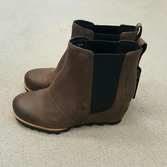 80aa342fe207 Brand new Sorel Lea Wedge boot!