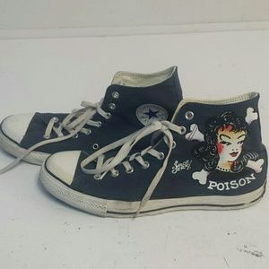 Converse Other - Converse Poison Ivy All Star Sneakers,Size 11