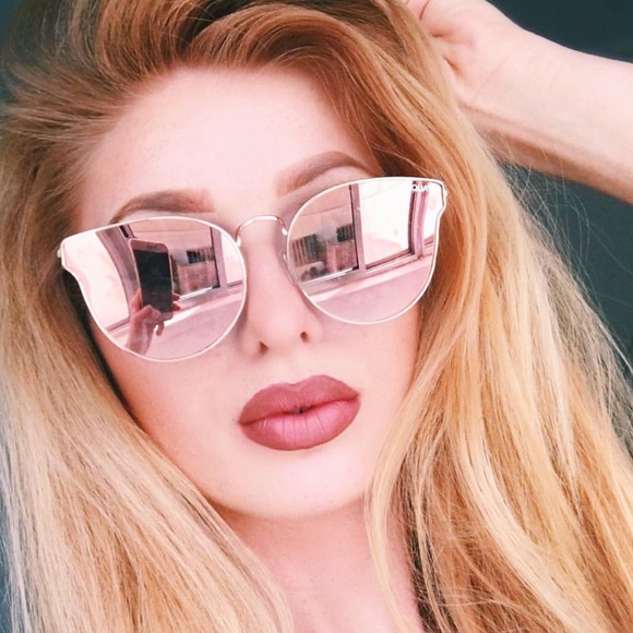 cc58129d03f All My Love Quay Mirrored Sunglasses
