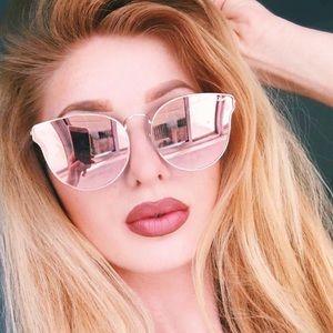 All My Love Quay Mirrored Sunglasses
