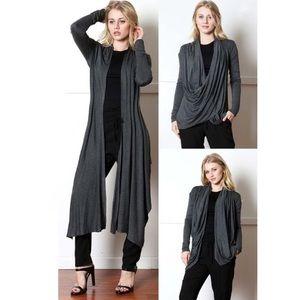 dottie + chloe boutique  Sweaters - 3 Looks In 1 Wrap Cardigan #440