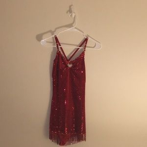 Other - Red Sparkle Dance Costume
