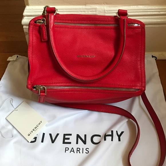 Givenchy Handbags - Givenchy Small Pandora Bag - RED! 4a6da9a3e0