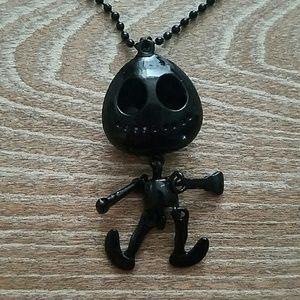 Jewelry - Halloween skeleton necklace