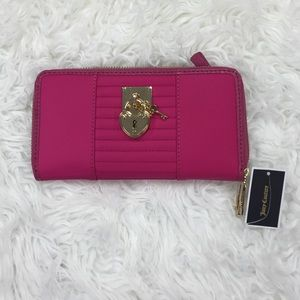 Juicy couture large zip wallet Nwt  authentic