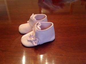 Other - Baby girl pink booties