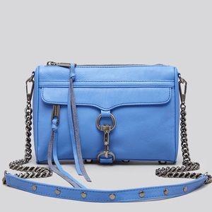 Rebecca Minkoff Blue Mini Mac