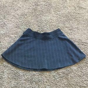 NWOT Black mini skater skirt