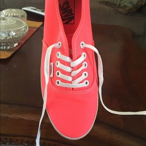 Vans Shoes - neon coral Vans