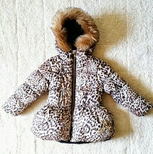 Pacific Trail Other - Pacific Trail animal print puffer coat 4T