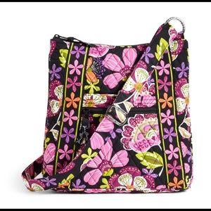 Vera Bradley Hipster Crossbody Bag Pirouette Pink