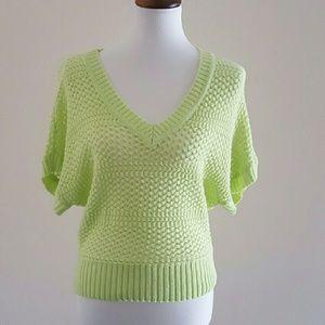 BONGO Sweaters - Yellow Vneck Sweater.