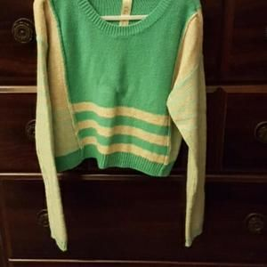 Cherokee (Target) Other - Turquoise & gray sweater