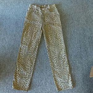 AUTHENTIC Fendi Print Jeans Sz. 33