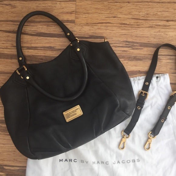 46dda32880b Marc by Marc Jacobs - Classic Q Fran Bag in Black.  M_5806763656b2d6ee7000f3f1