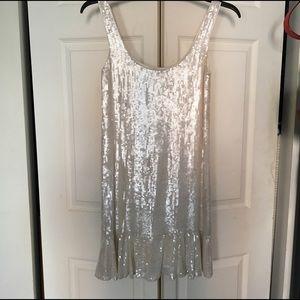 Diane von Furstenberg Dresses & Skirts - White sequined dream dress