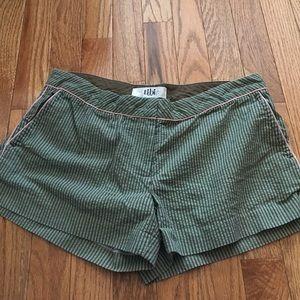 Tibi Seer Sucker Shorts