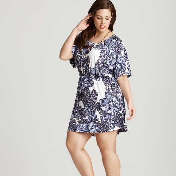 Tbags Los Angeles Dresses Plus Size White Purple Dress Poshmark