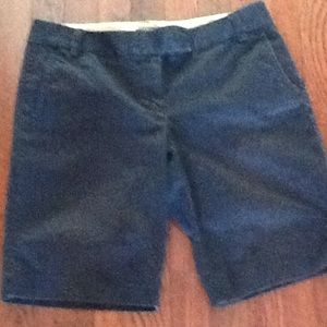 J. CREW city fit blue washed shorts