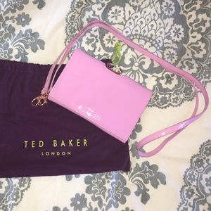 •SALE• Ted Baker Patent Square Crossbody