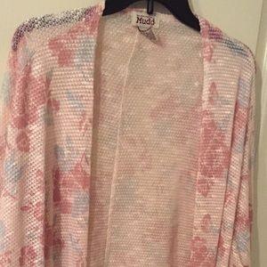 MUDD lightweight kimono sweater size M
