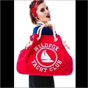 Sale! RARE! Wildfox Sail On Reversible Bag!✨