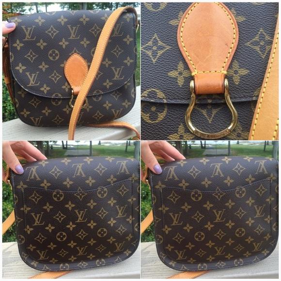 1da88737bc21 Louis Vuitton Handbags - 💯Authentic Louis Vuitton Saint Cloud GM crossbody