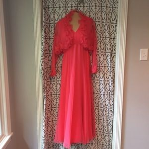 Vintage Dan Lee Couture--Glamorous Gown