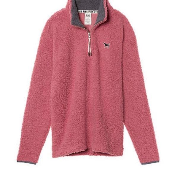 89% off PINK Victoria's Secret Jackets & Blazers - Pink Boyfriend ...