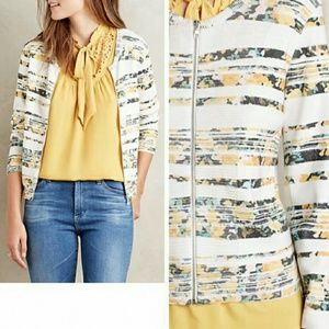 Anthropologie Sweaters - Array Zip Front Cardigan -Brand New!