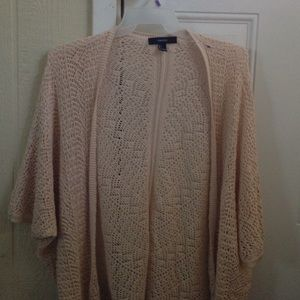 Forever 21 crochet sweater