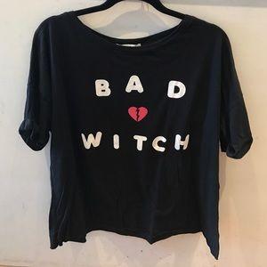 Wildfox bad witch Katie tee