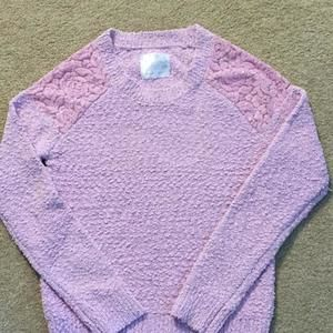 Justice sweater size 14