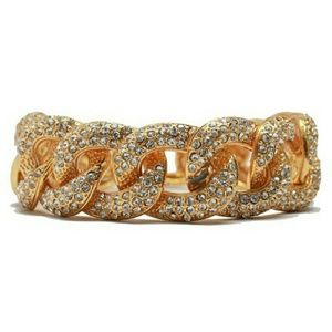 T&J Designs Jewelry - 🔥🎀NWT Gold Pave Chain Bracelet
