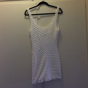 Dresses & Skirts - Urban Outfitters white bodycon dress.