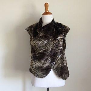 Liu Jo Jackets & Blazers - Liu Jo Faux Fur Vest