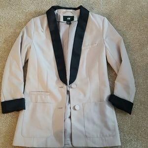 H&M tuxedo boyfriend blazer