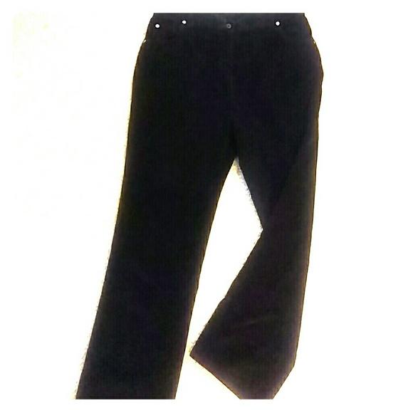 92% off Woolrich Pants - Woolrich black velvet corduroy pants, 12 ...